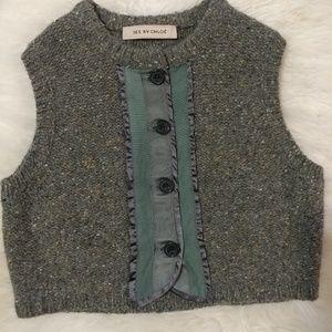 💐See by Chloé kids wool vest